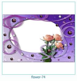 Marco de la foto de la flor 74
