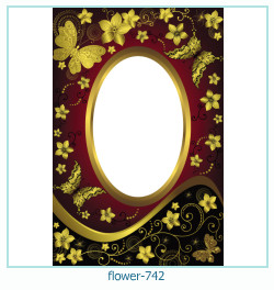 flower Photo frame 742