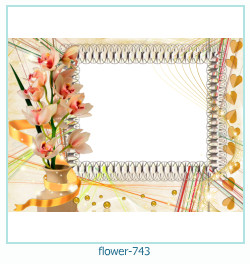 flower Photo frame 743
