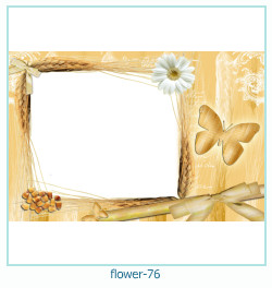 Marco de la foto de la flor 76