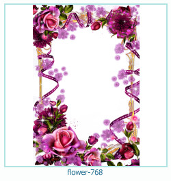 flower Photo frame 768