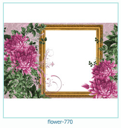 flower Photo frame 770