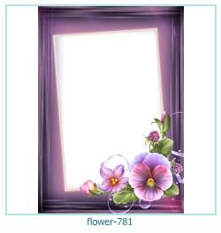 Marco de la foto de la flor 781