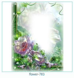 flower Photo frame 783