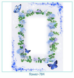 flower Photo frame 784