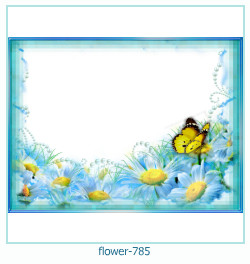 flower Photo frame 785