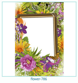 Blume Fotorahmen 786