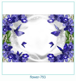 flower Photo frame 793