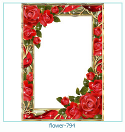 flower Photo frame 794