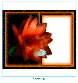 flor ano 8 ano Photo Frame