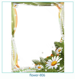 flower Photo frame 806