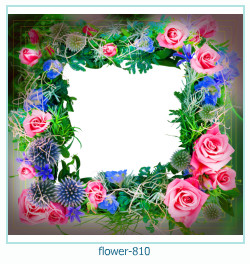 flower Photo frame 810