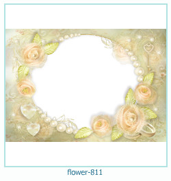 flower Photo frame 811