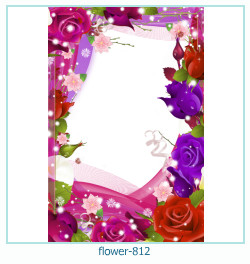 flower Photo frame 812