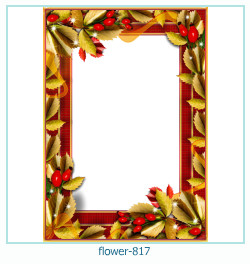 flower Photo frame 817