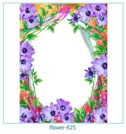 flower Photo frame 825