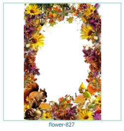 flower Photo frame 827