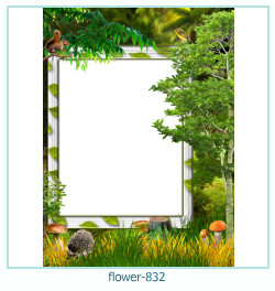 flower Photo frame 832