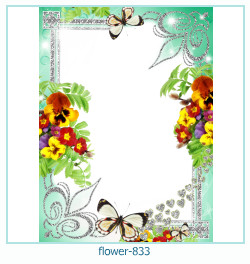 flower Photo frame 833