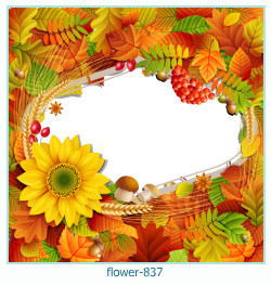 flower Photo frame 837