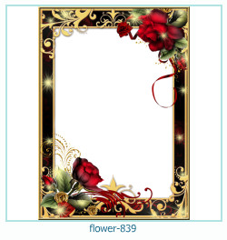 flower Photo frame 839