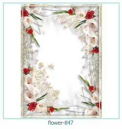 flower Photo frame 847