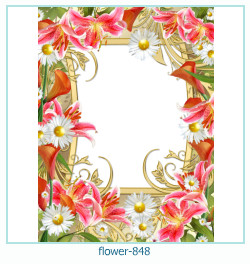 flower Photo frame 848
