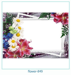 flower Photo frame 849