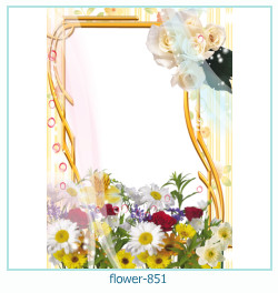 flower Photo frame 851