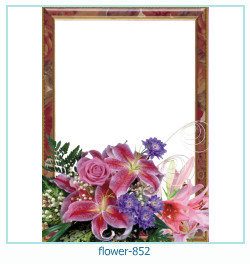 flower Photo frame 852