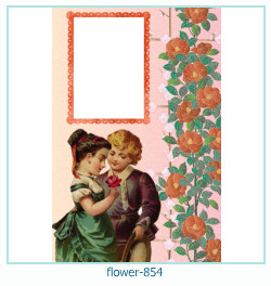 flower Photo frame 854