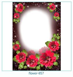 Marco de la foto de la flor 857