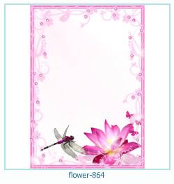 flower Photo frame 864