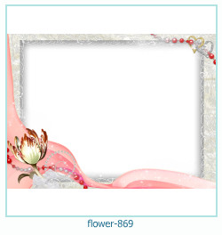 Marco de la foto de la flor 869