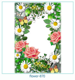 flower Photo frame 870