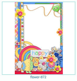 flower Photo frame 872