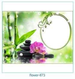 Marco de la foto de la flor 873