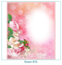 Marco de la foto de la flor 876