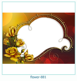 flower Photo frame 881