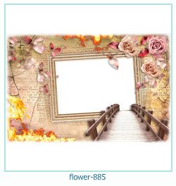 flower Photo frame 885