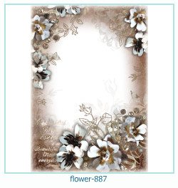 flower Photo frame 887