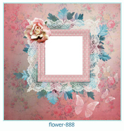 flower Photo frame 888