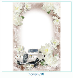 flower Photo frame 890