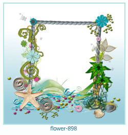 flower Photo frame 898