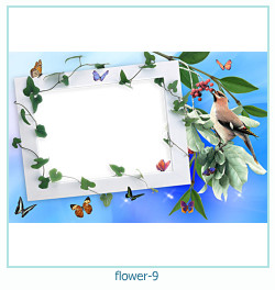 flor ano 9 ano Photo Frame