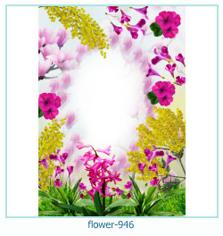 flower Photo frame 946