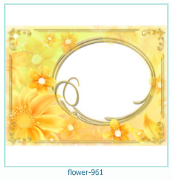 flower Photo frame 961