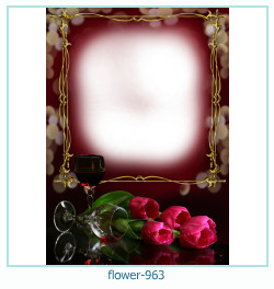 flower Photo frame 963