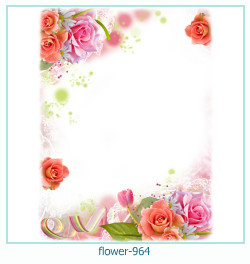 flower Photo frame 964