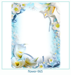 flower Photo frame 965
